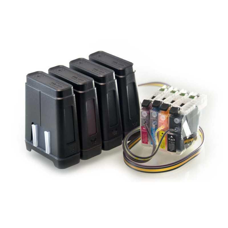 Sistema di alimentazione dell'inchiostro si addice Brother DCP-J172W