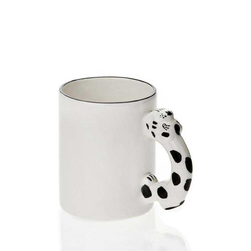 Snow Leopard handtag mugg