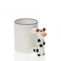 Cow handle mug