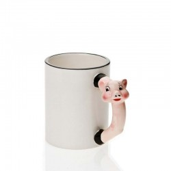 Mug poignée cochon
