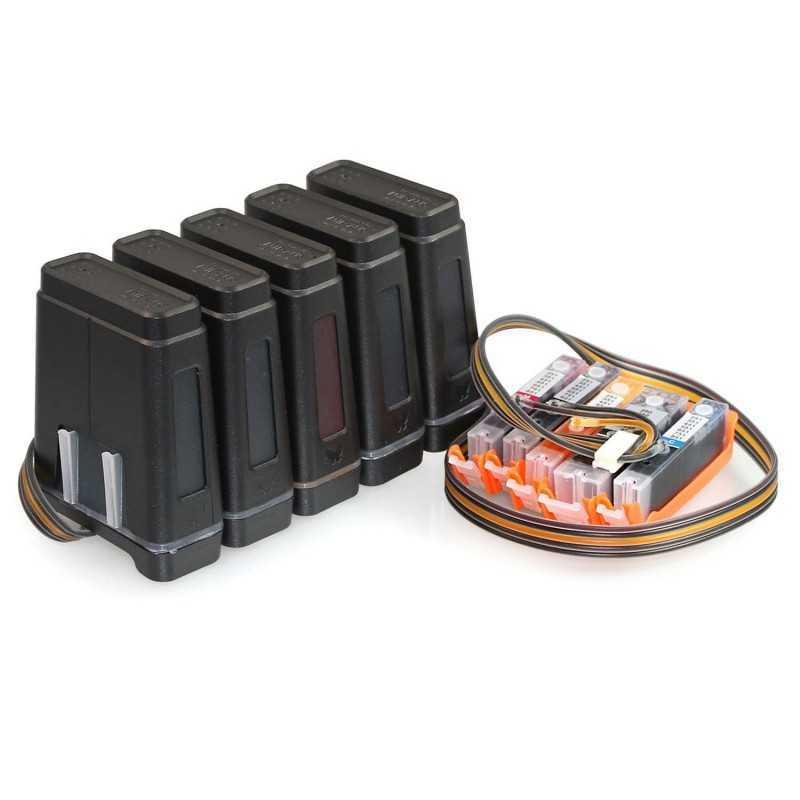 Sistema de abastecimento de tinta CISS para CANON MG-5460