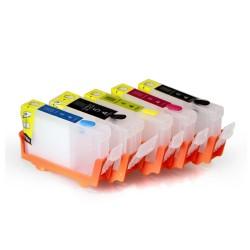 Cartuchos de tinta recargables para Canon MP830 PGI-5BK CLI-8BK CLI-8Y CLI - 8M CLI - 8C