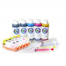 Cartucho de tinta recargables HP 564 5 cartrudges