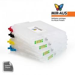 Refillable ink cartridges RICOH GC31