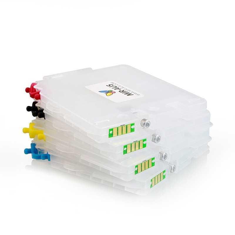 Cartuchos de tinta recarregáveis GC21 RICOH