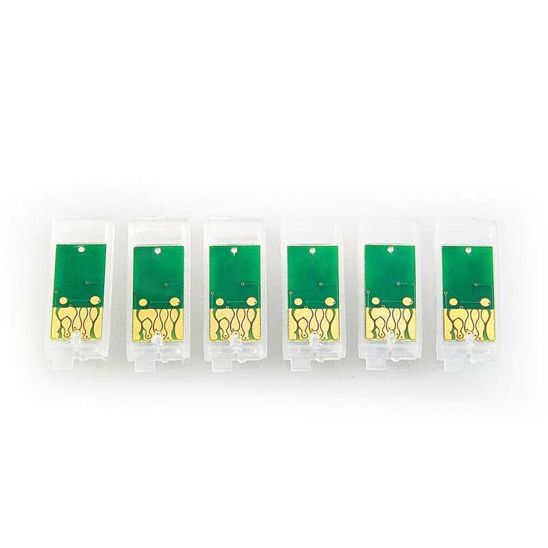 Chip-set for refillable cartridges for Epson 81N