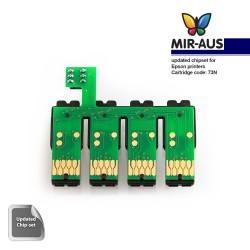 CISS Chipsatz für Epson 73 n