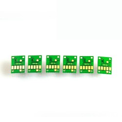 Chip-set for refillable cartridges for Canon 650-651 6 colours