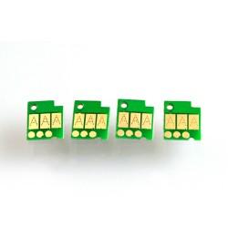 Chip-sæt for Genopfyldelige patroner til Canon 650-651 5 farver