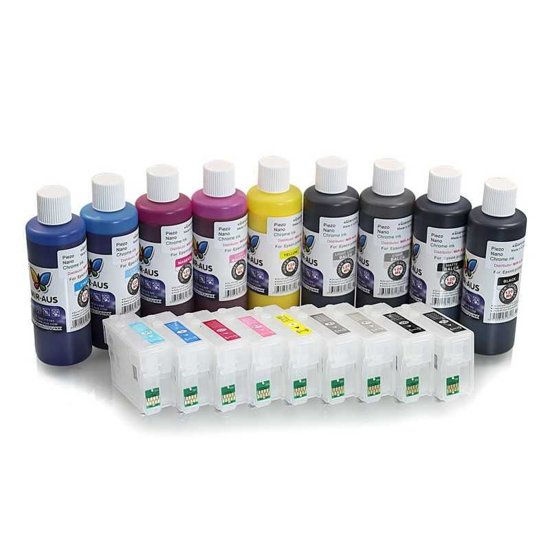 Refillable ink cartridge for EPSON SureColor SC-P600