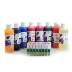 Cartucho de tinta recarregáveis para EPSON R2000