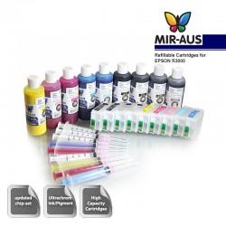 Nachfüllbar Tintenpatrone Verwendung für EPSON R3000