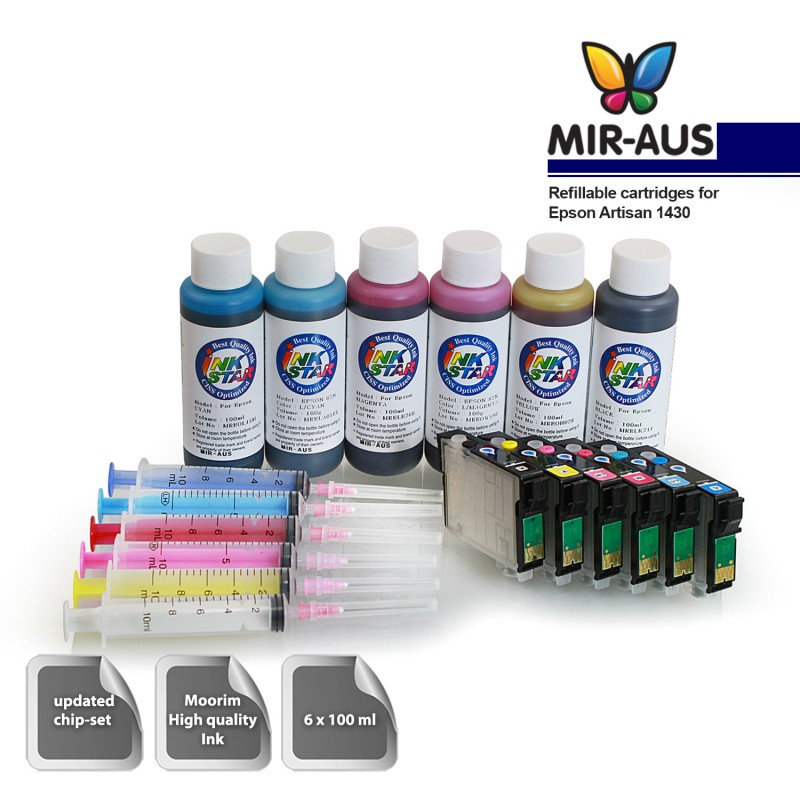 Mir Aus Online Shopping Refillable Ink Cartridge For Epson