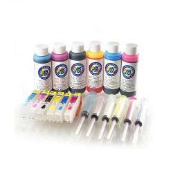 Nachfüllbare Tintenpatronen passt Epson Expression Foto XP-960 960