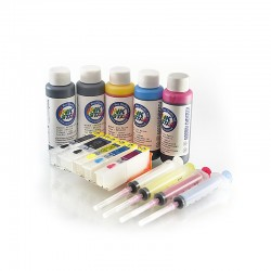 Refillable ink cartridges suits Epson Expression Photo XP-800 800