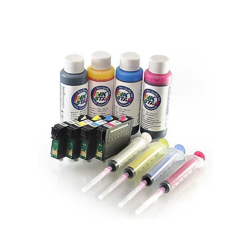 Cartucho de tinta recargable plantilla para Epson 7010 7510 7520