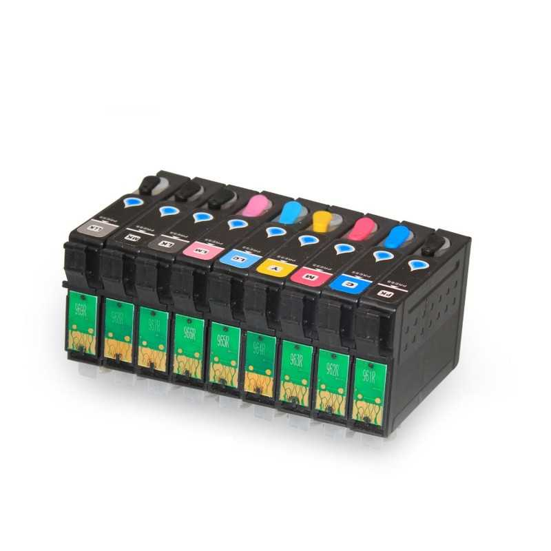 Refillable ink cartridge EPSON R2880 9 colours