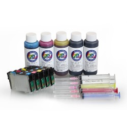 Refillable ink cartridges for Epson T1100