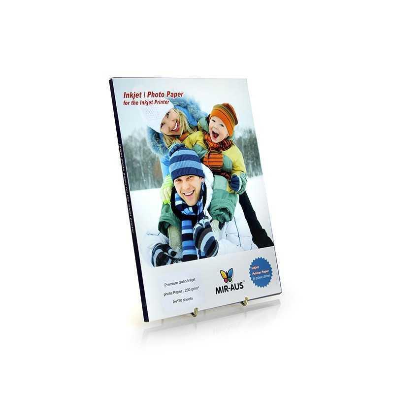 A4 260G 50 sheets Premium Satin Inkjet Photo Paper