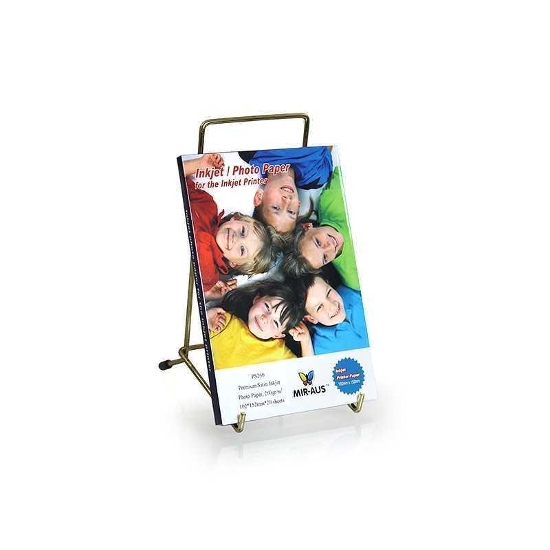102x152mm 260 G Premium Satin Inkjet Photo kertas
