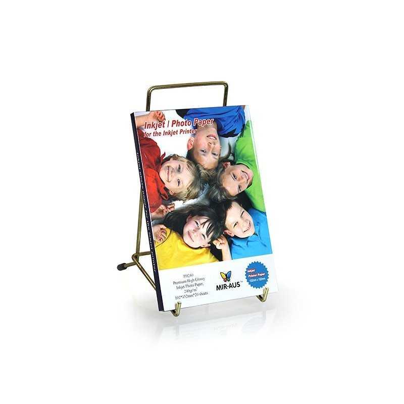 102x152mm 240 G Premium hög glättat fotopapper för bläckstråleskrivare