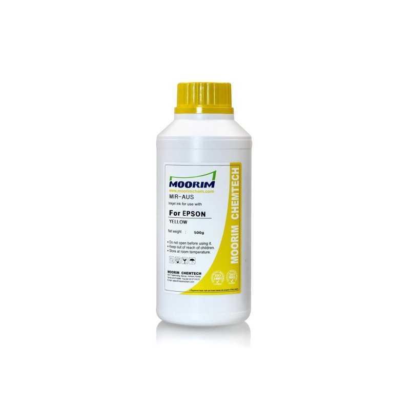 tinta de corante amarelo 500ml para impressoras Epson para ET-2500-2550-4500-4550