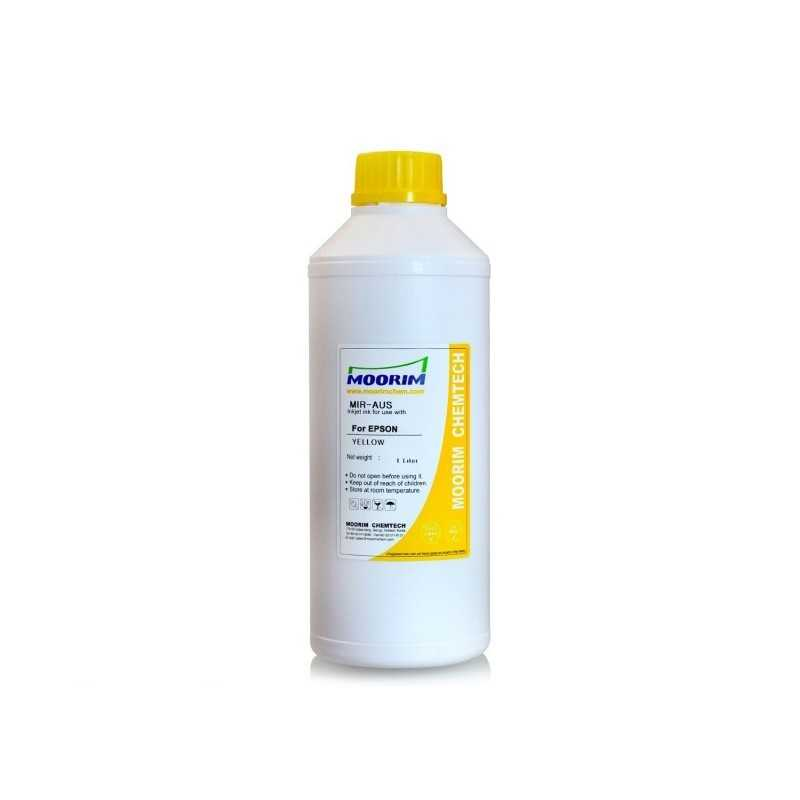 1 Litre Yellow Dye ink for Epson printers