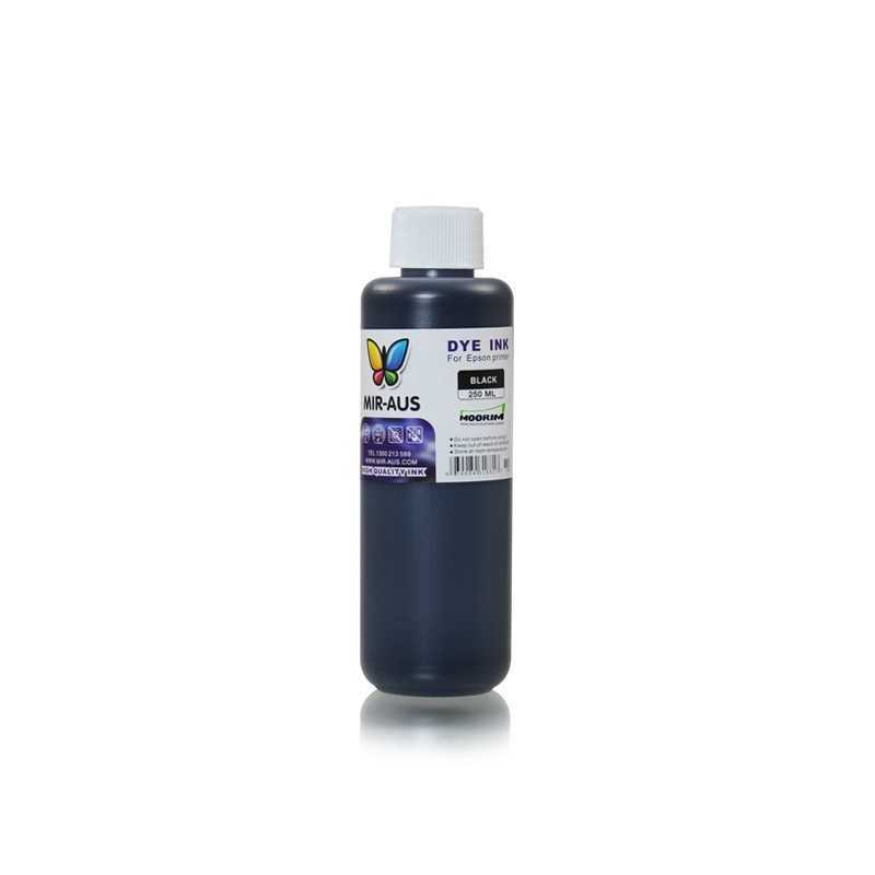 Black refillable Dye ink 250ml for epson printers