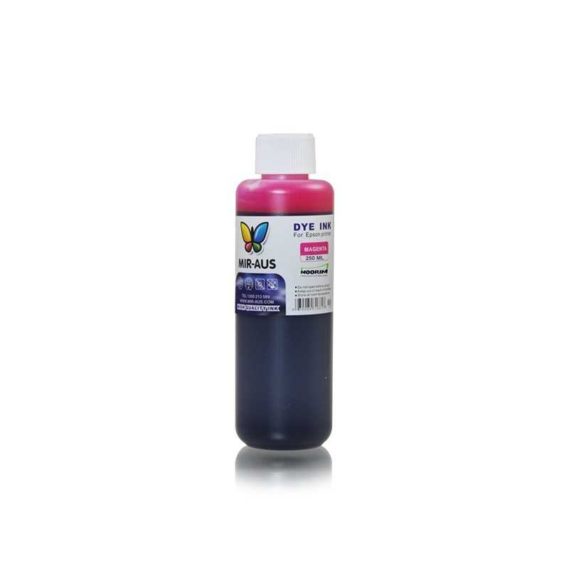 Magenta refillable dye ink 250ml for Epson printers