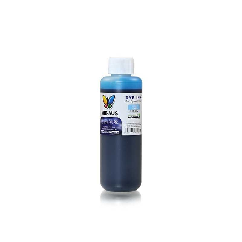 Light cyan refillable dye ink 250ml for Epson printers