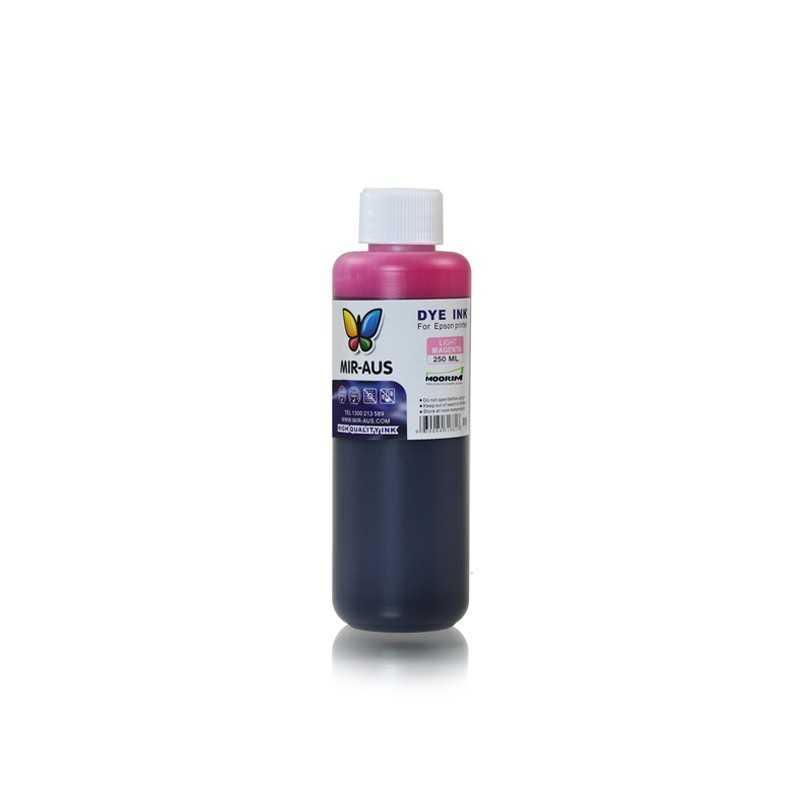 Light Magenta refillable dye ink 250ml for Epson printers