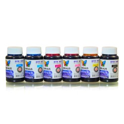 120 ml 6 färger Dye bläck för Epson-skrivare