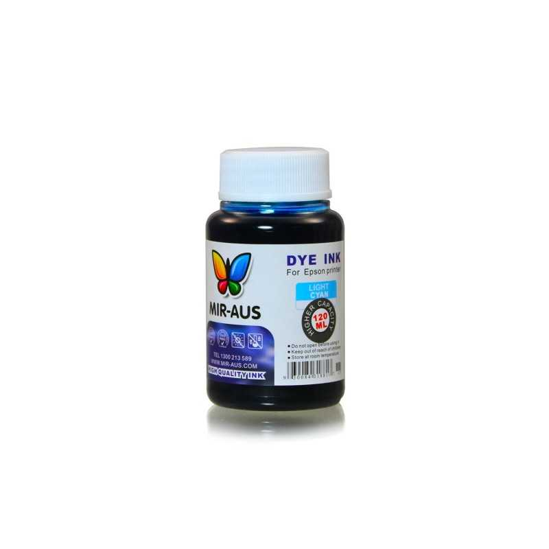 120 ml Light cyan dye ink for Epson printers
