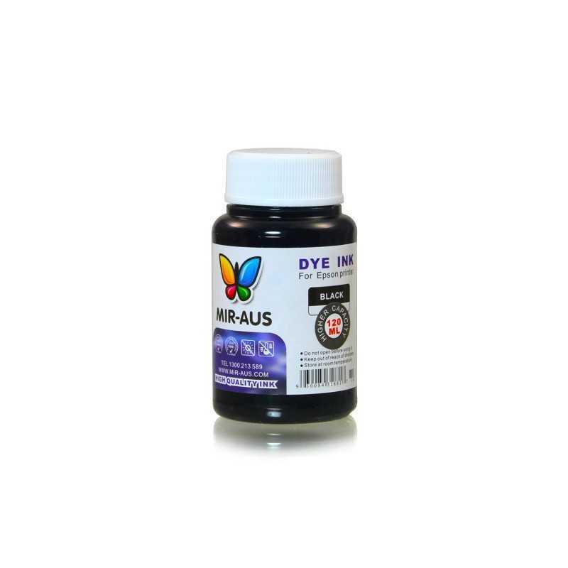 120 ml Black dye ink for Epson printers