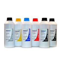 1 litre 6 colours dye/pigment ink for Canon 650-651