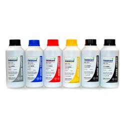 100 ml 6 färger färgämne/pigmentbaserat bläck för Canon CLI-521