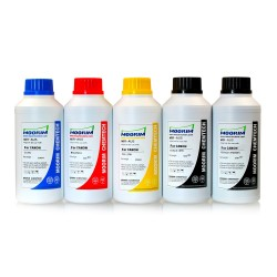 500 ml 5 färger färgämne/pigmentbaserat bläck för Canon CLI-8
