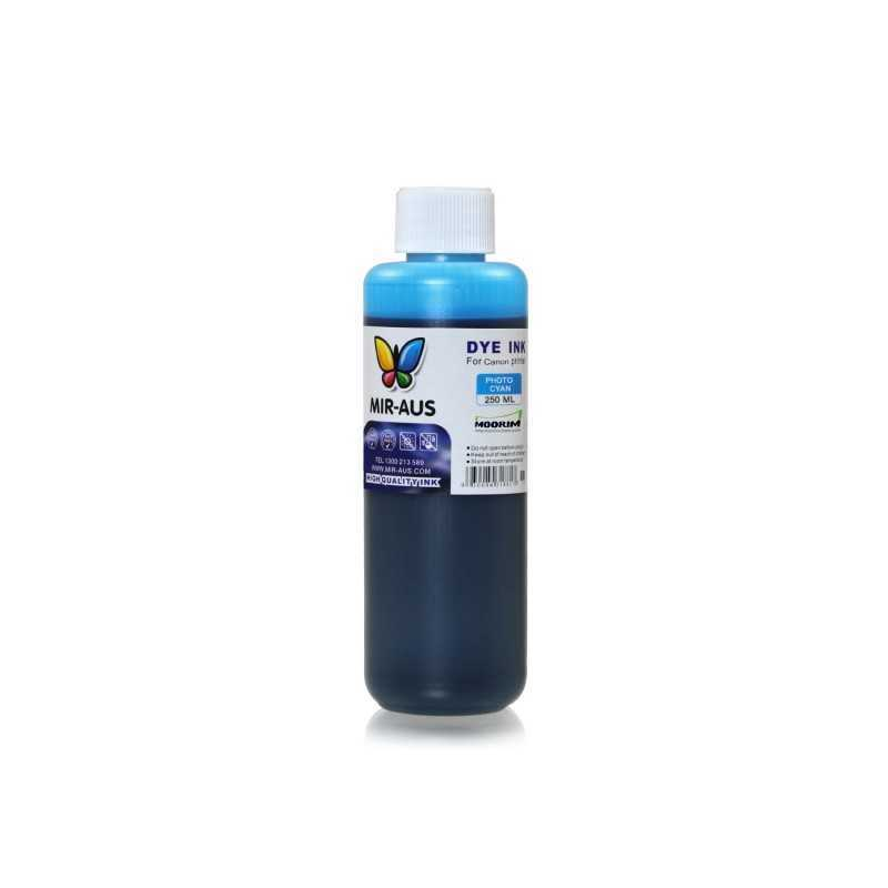 250 ml Photo cyan dye ink for Canon BCI-6 BCI-3 PGI-9 PGI-7