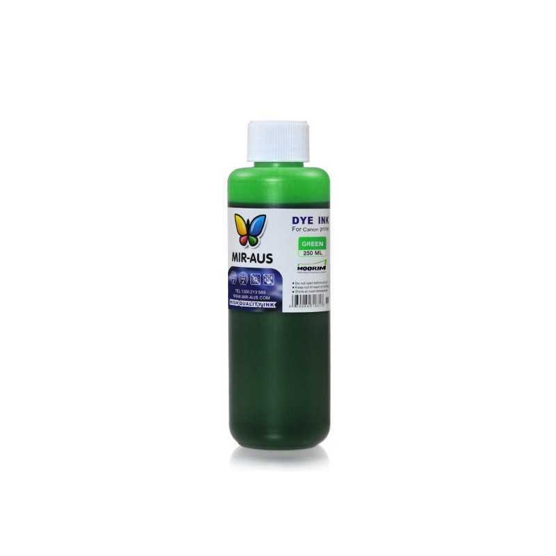250 ml Green dye ink for Canon BCI-6 BCI-3 PGI-9 PGI-7