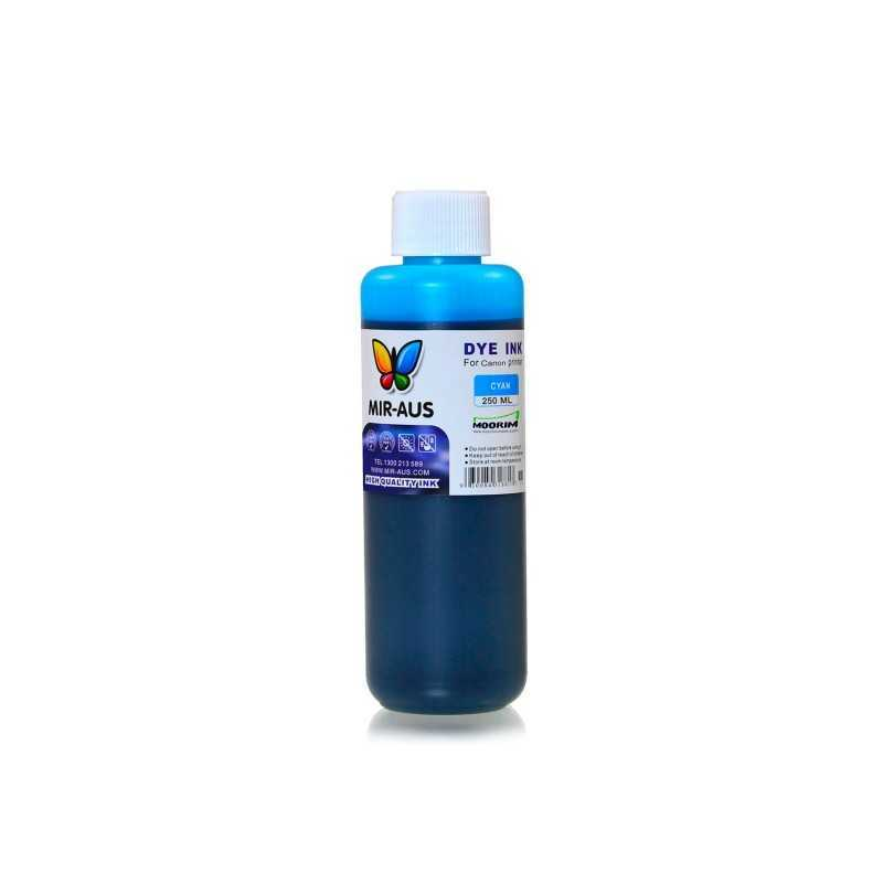 250 ml Cyan dye ink for Canon BCI-6 BCI-3 PGI-9 PGI-7