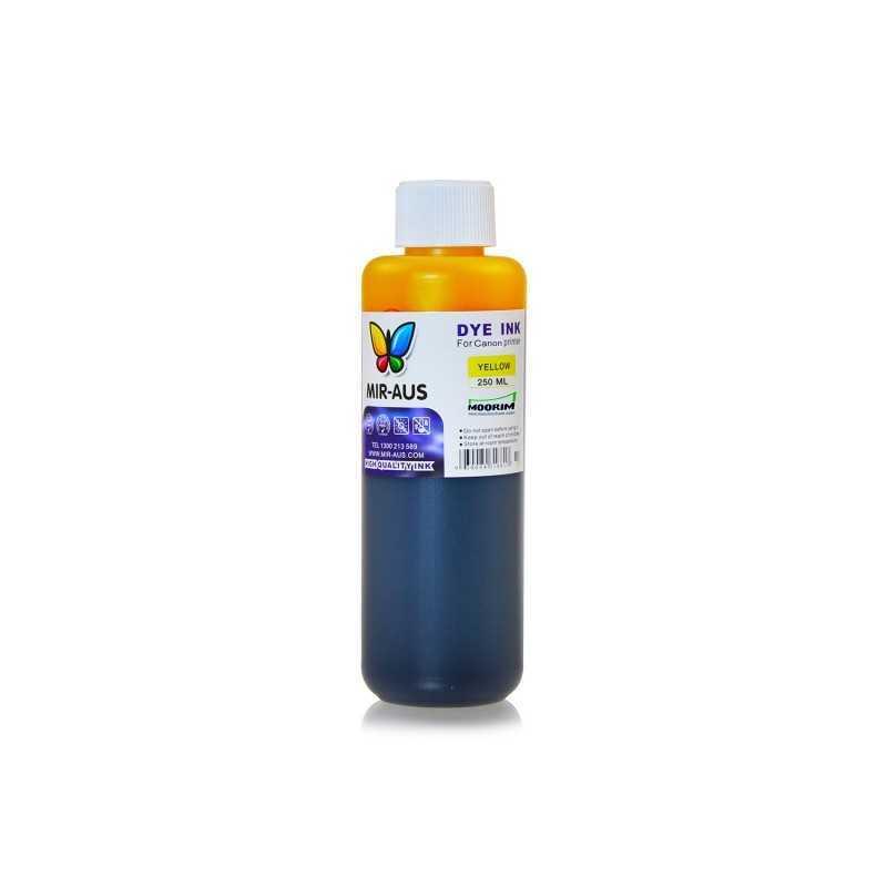 250 ml Yellow dye ink for Canon BCI-6 BCI-3 PGI-9 PGI-7