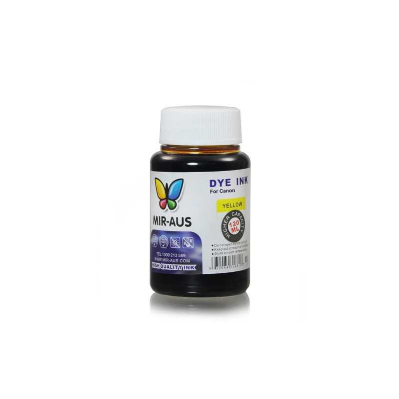 120 ml Yellow dye ink for Canon CLI-8