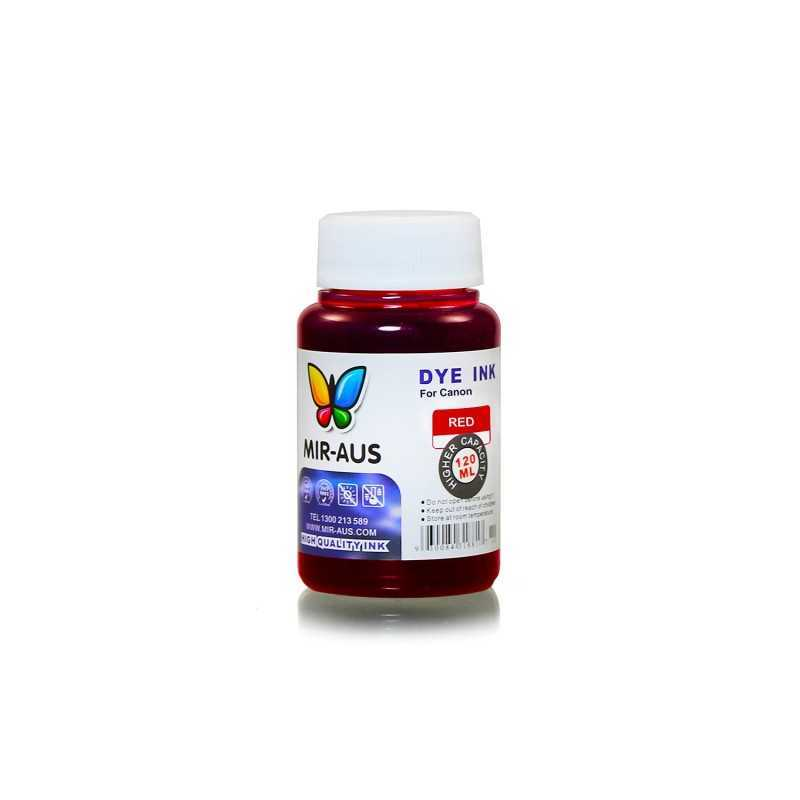 120 ml Red dye ink for Canon BCI-6 BCI-3 PGI-9 PGI-7