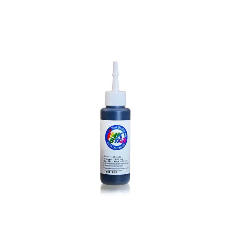 100 ml sort farvestof blæk til Canon CLI-521
