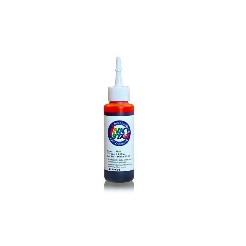 100 ml de tinta del tinte rojo para Canon BCI-6 BCI-3 PGI-9 IGP-7