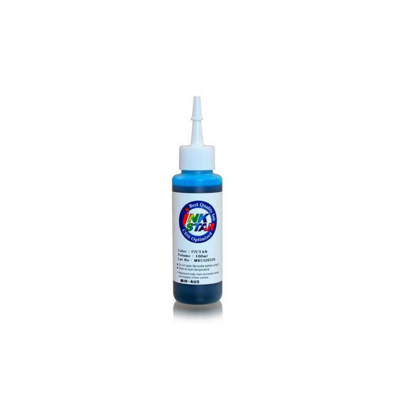 100 ml Photo cyan dye ink for Canon BCI-6 BCI-3 PGI-9 PGI-7