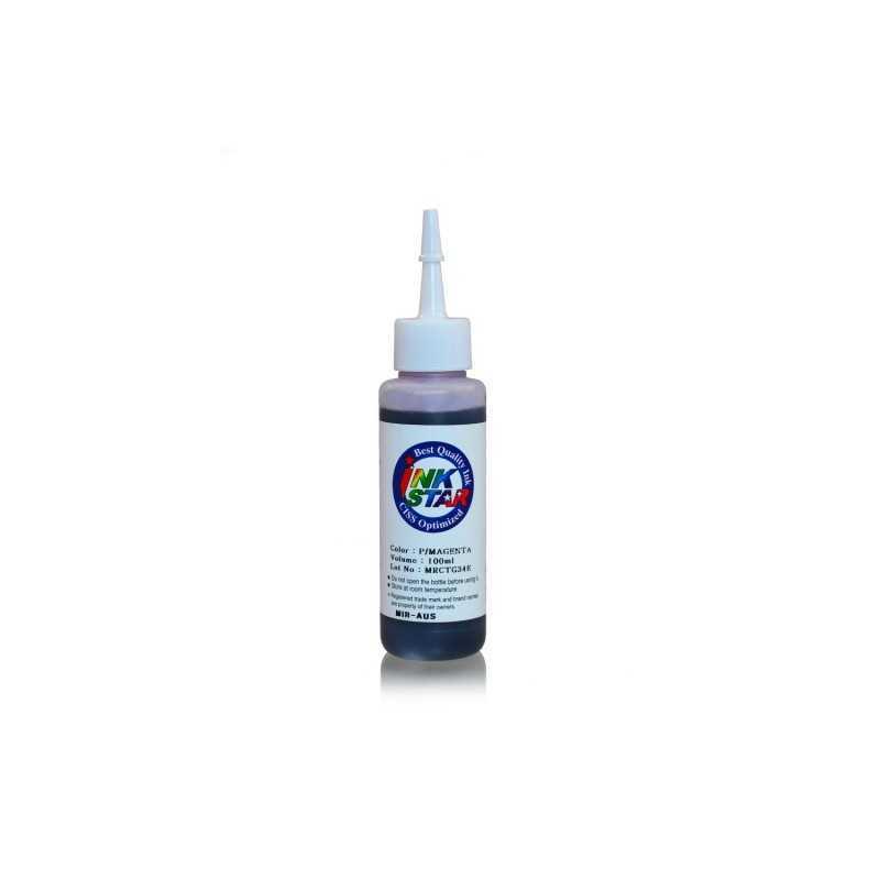 100 ml Tinta Dye Magenta foto untuk Canon BCI-6 BCI-3 PGI-9 PGI-7