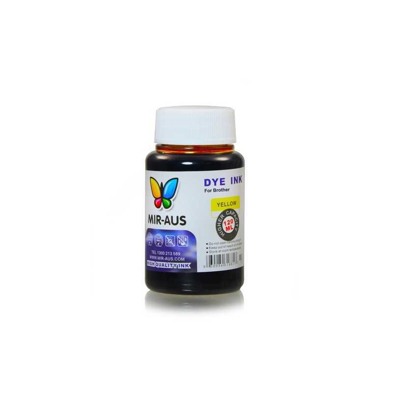 120ml Yellow ink for Brother printers