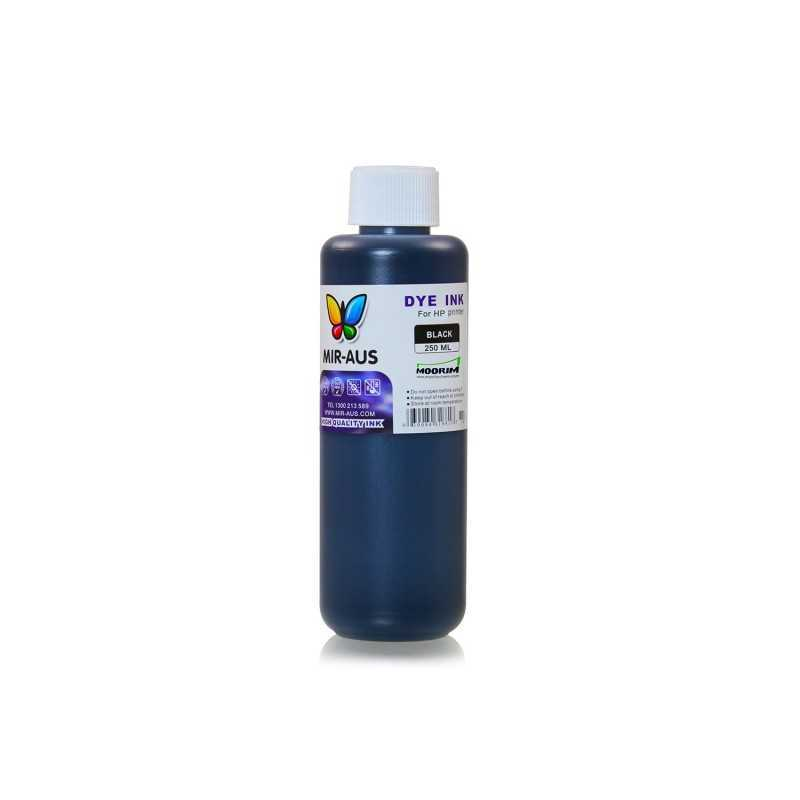 250 ml Black dye ink for HP printers