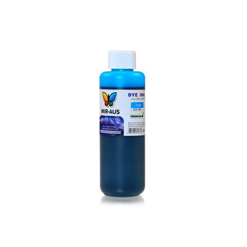 250 ml Cyan dye ink for HP printers